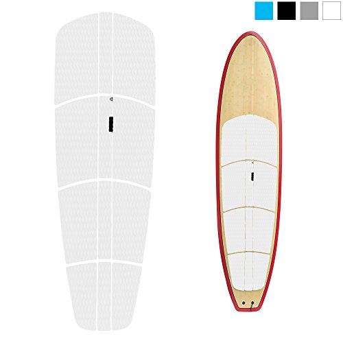 ABAHUB 12 Piece Surf SUP Deck Traction Pad Premium EVA with Tail Kicker 3M Adhesive for Stand Up Paddleboard (Deck Traction)