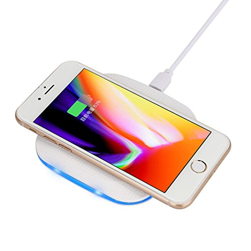 New Qi Wireless Charger Power Bank, Ounice Portable Fast Charging