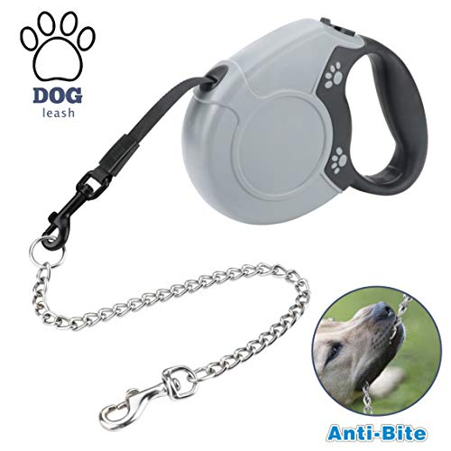 Idepet Retractable Anti Chewing 360%C2%B0Tangle Free Walking