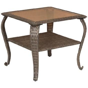 Amazon.com : La-Z-Boy Outdoor Sawyer Patio Furniture Side ...