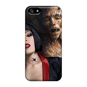 Ideal Veruscases Case Cover For Iphone 5/5s(black Widow), Protective Stylish Case