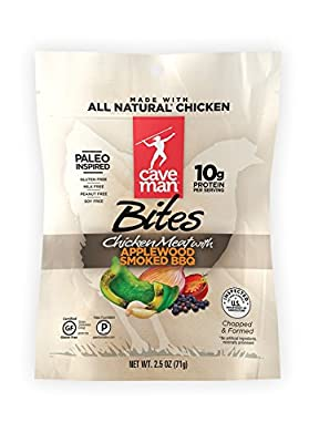 Caveman Foods Chicken Meat Bites, 2.5 Ounce
