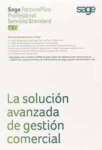 Sage FacturaPlus Profesional - Software De Contabilidad, Servicio Standard, Español