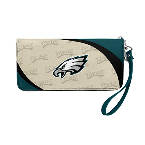 NFL Philadelphia Eagles Curve Zip Organizer Wallet -