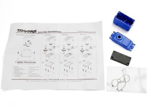 Traxxas 2074 Case, Gaskets for 2056 and 2075 Servos