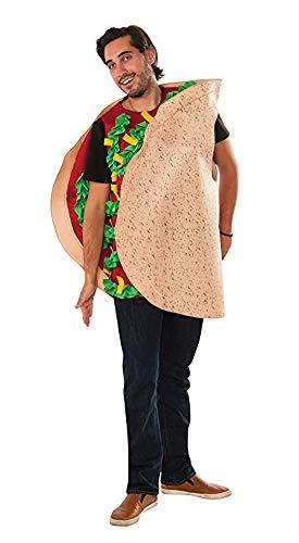 Rubie's Men's Taco Costume, Multi, One -