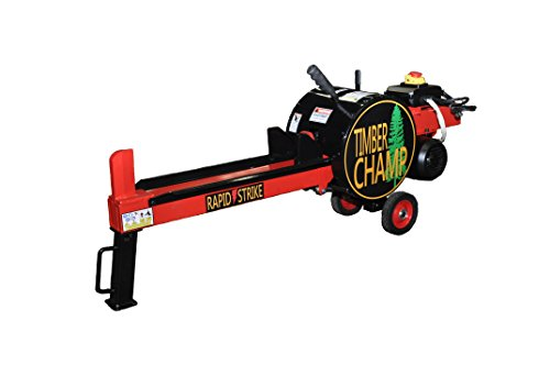 Timber Champ 10-Ton Fast-Cycle Compact Electric Log Splitter - SHIPS FREE TO HOME! by Timber Champ