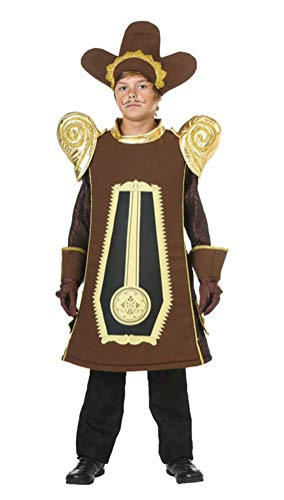 (COSKING Cogsworth Costume for Boys, Kids Deluxe Halloween Cosplay Outfit (One Average)