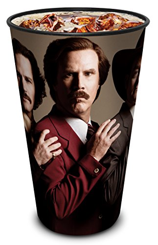 Anchorman 2 Theater Exclusive 44 oz Plastic Cup Will Ferrell