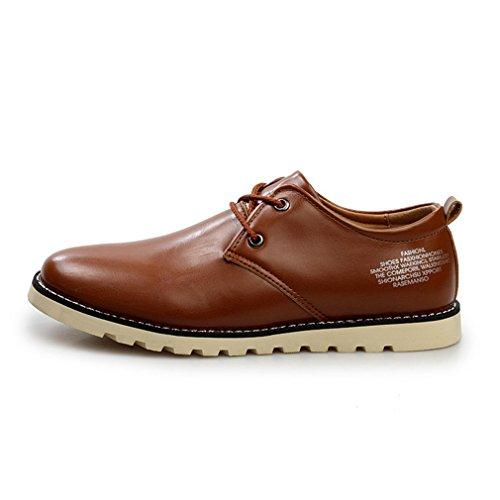 Feidaeu - Brogue Hombre Marrón Claro Zapatos de moda en línea Obtenga el mejor descuento de venta caliente-Descuento más grande