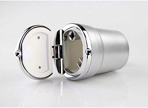 EUEMCH LEDライト付きカー灰皿車、無煙カップホルダー、自動車部品