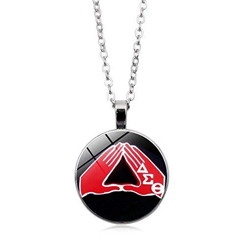 Handmade Pendants Charm Organization Customize Sigma Gamma Rho Sorority Poodles Necklace Glass Cabochon Necklaces Jewelry