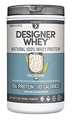Designer Protein 100% Premium Whey Protein Powder from Designer Protein