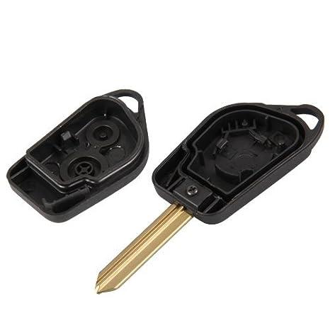 Amazon.com: Clave de Entrada remoto Fob Shell caso 2 botón ...