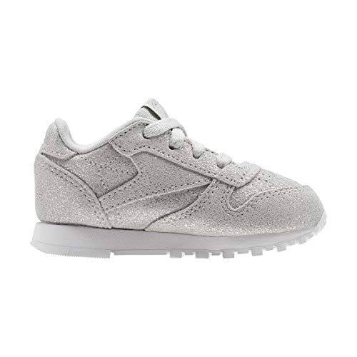 silver skull 0 Met Multicolore ms Chaussures Reebok Femme Fitness De Classic Leather x44qwf8U