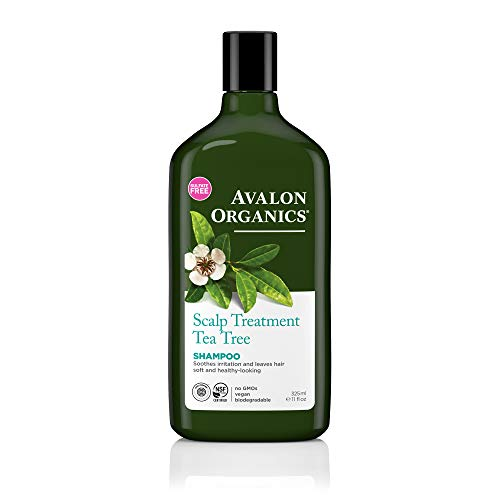Avalon Organics Scalp Treatment Tea Tree Shampoo, 11 oz.