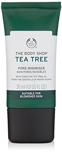 The Body Shop Tea Tree Pore Minimizer, Made with Tea Tree Oil, 100% Vegan, 1 Oz.