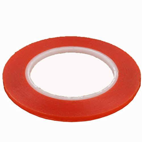 (iPartsBuy 1mm 3M Double Sided Adhesive Sticker Tape for iPhone / Samsung / HTC Mobile Phone Touch Screen Repair, Length: 25m(Red))