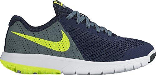 Nike 844995-401, Zapatillas de Trail Running para Niños Azul (Obsidian / Volt / Hasta / White)