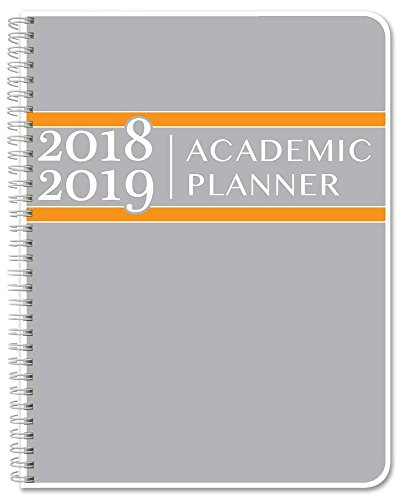 BookFactory 2018-2019 Weekly Academic Calendar (2 Pages per Week - 126 Pages - 3.5'' X 5.5'')/2018 Weekly Planner/Weekly Organizer [Wire-O Bound] (ACAD-152-M3CW-A(WEEKLY-CAL2018-19)) by BookFactory (Image #1)