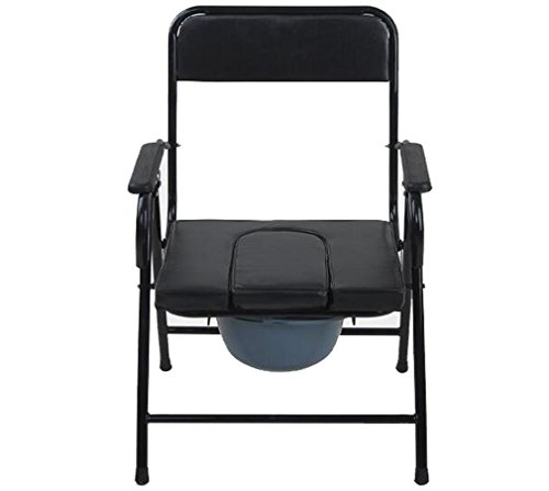 Heruai Old People Urinals Folding Toilet Chair Portable Folding ...