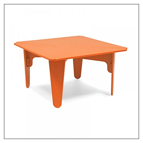 BB02 Kids Table Color: Orange (Bb02 Table)