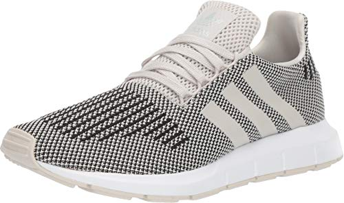 (adidas Originals Men's Swift Run Talc/Talc/White 6 D US)