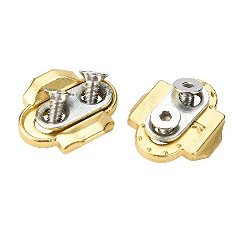 Gold Happy Bick Pedals Bicycle Premium Cleats Crank Brothers Egg Beater Candy Smar Acid Mallet Pedals Bike accessories by Gold Happy