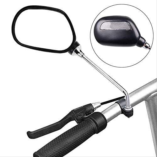 バイクサイクルミラーモビリティスクーターミラーウィングミラーリアビュー反射ミラー調整可能なミニバックミラーセーフハンドルバーバイク