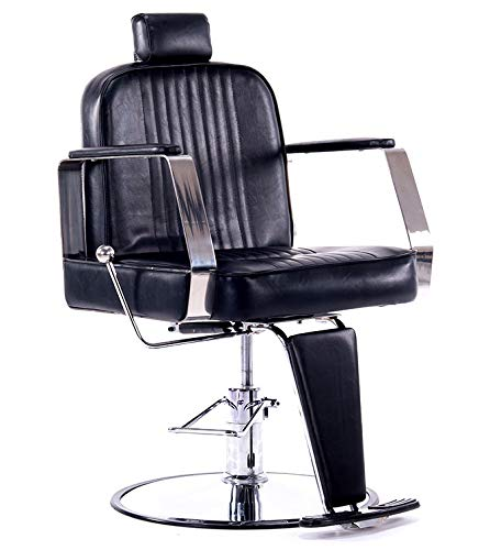 Deluxe Heavy Duty All Purpose Hydraulic Reclining Barber, used for sale  Delivered anywhere in Canada
