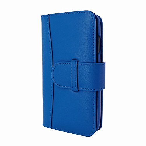 Piel Frama 793 Blue WalletMagnum Leather Case for Apple iPhone X by Piel Frama