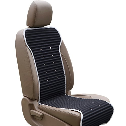 ABN Cooling Seat Portable Grey 12V Automotive Cooling Seat Cover Adjustable Fan