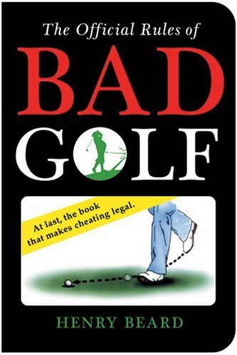 Download The Official Rules of Bad Golf pdf epub
