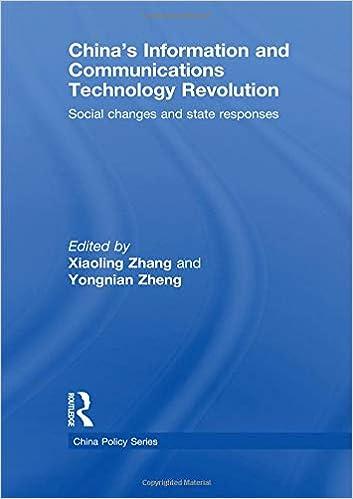 china s information and communications technology revolution zheng yongnian zhang xiaoling