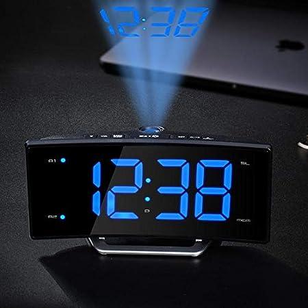 Amazon.com: Reloj de proyección atómica, temporizador ...