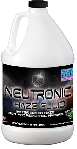 Froggys Neutronic Haze Fluid - Specially Formulated Haze Liquid - 1 Gallon / 3.785 - Fluid Haze