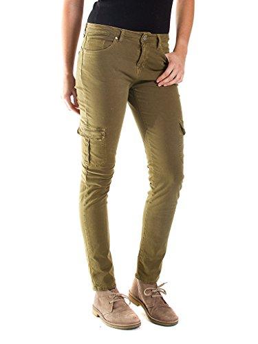 Tinta 770 Per Pantalone Tessuto Skinny Donna Gabardina Vestibilità Regular Cargo Carrera Modello Unita Vita Jeans BtwgEW5q0