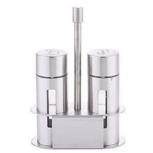 4Pieces/Set Salero Pimentero de acero inoxidable 304 odor-free ...