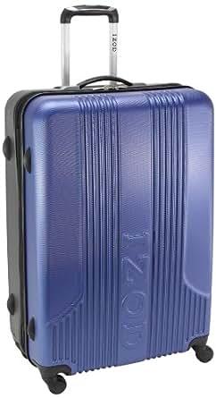 IZOD Luggage Voyager 2.0 28 Inch Expandable Spinner Upright Suitcase, Cobalt Blue, Large