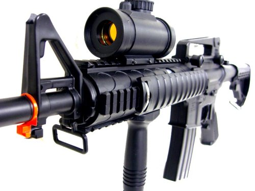 (BBTac Airsoft Electric Gun M83 Fully Automatic, Great for Beginner, Semi & Safe Mode)