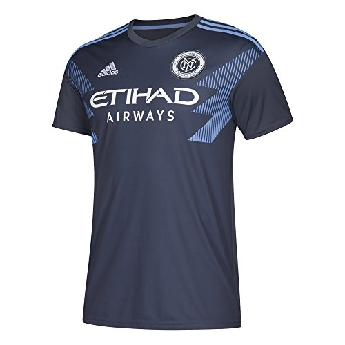 (adidas MLS NYCFC 7417ASFPAZNNY2 Men's Replica Jersey, Large, Utility Blue)