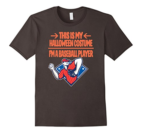 Baseball Player Costume Tshirt - Men Women Youth Sizes