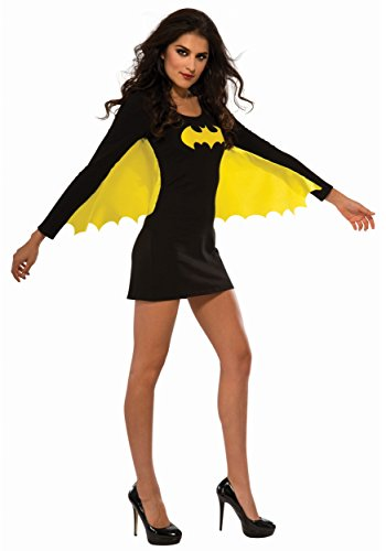 Women's Batgirl Costume Dress with Wings - Size Large (Adult Bat Wings)