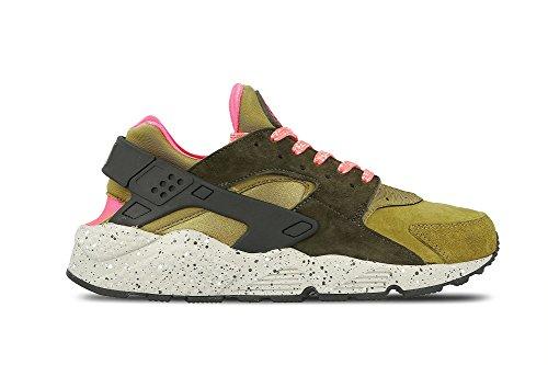 Nike Air Huarache Run Prm, Scarpe da Ginnastica Uomo, Oro (Desert Moss/Cobblestone/Cargo Khaki), 40.5 EU