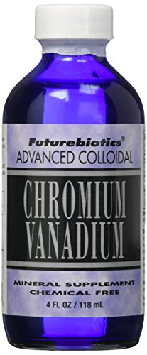 Futurebiotics Chromium/Vanadium Supplement, 48 Ounce by Futurebiotics