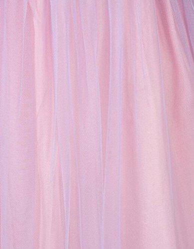 QIYUN.Z Las Mujeres Sin Tirantes Atractivo Del Vestido De Lentejuelas Sin Mangas Coctel Vestido Maxi De Color Purpura Claro Luz Purpura