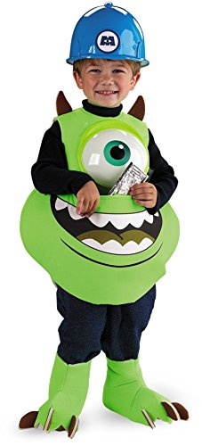 Mike Candy Catcher Costume,Fits up to size (Monsters Inc Mike Halloween Costumes)