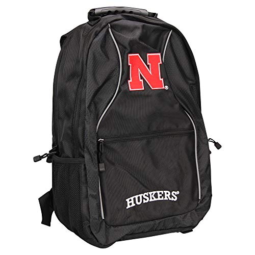The Northwest Company NCAA Padded Utility Laptop Backpack (Nebraska -