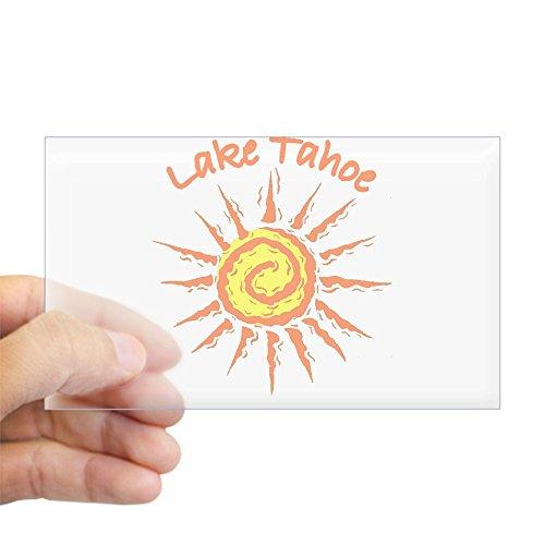 CafePress - I love Tahoe Rectangle Sticker - Rectangle Bumper Sticker Car - Buy Palm Beach On Best Lakes