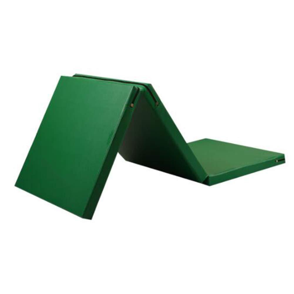 品質一番の ZJ ジムマット三つ折りスポーツエクササイズヨガ体操マットソフトタンブルプレイクラッシュ安全フィットネススポーツエクササイズ子供クロールマット (色 B07MDPY4H6 : (色 Green, サイズ さいず : 100×180×5CM) : B07MDPY4H6 Green 100×180×5CM, マムロガワマチ:d3d82ac0 --- arianechie.dominiotemporario.com